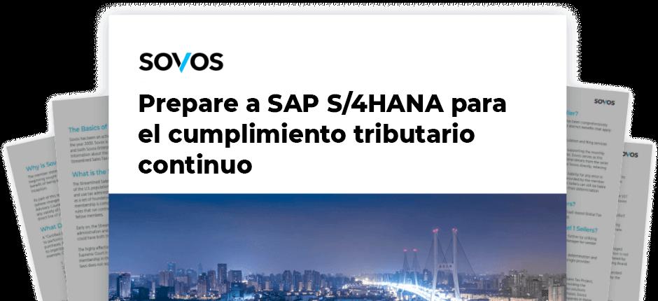 Prepare a SAP S/4HANA para el cumplimiento tributario continuo