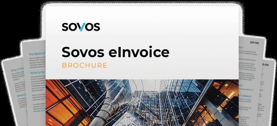 Brochure Sovos eInvoice