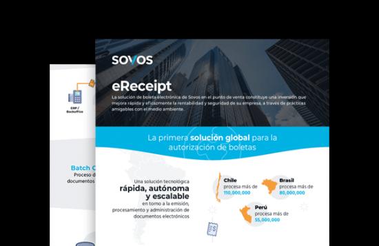Infografía boleta electrónica Sovos eReceipt