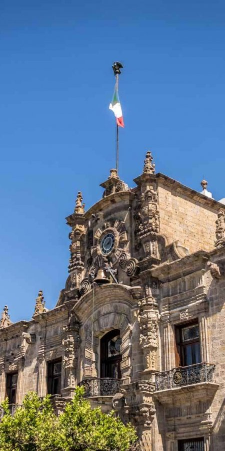 México palacio de Gobierno