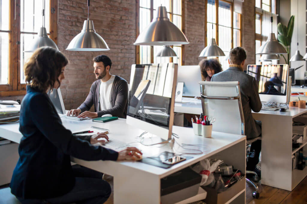 working-in-startup-daytime